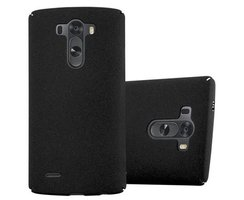 Cadorabo Case works with LG G3 in FROSTY BLACK -...