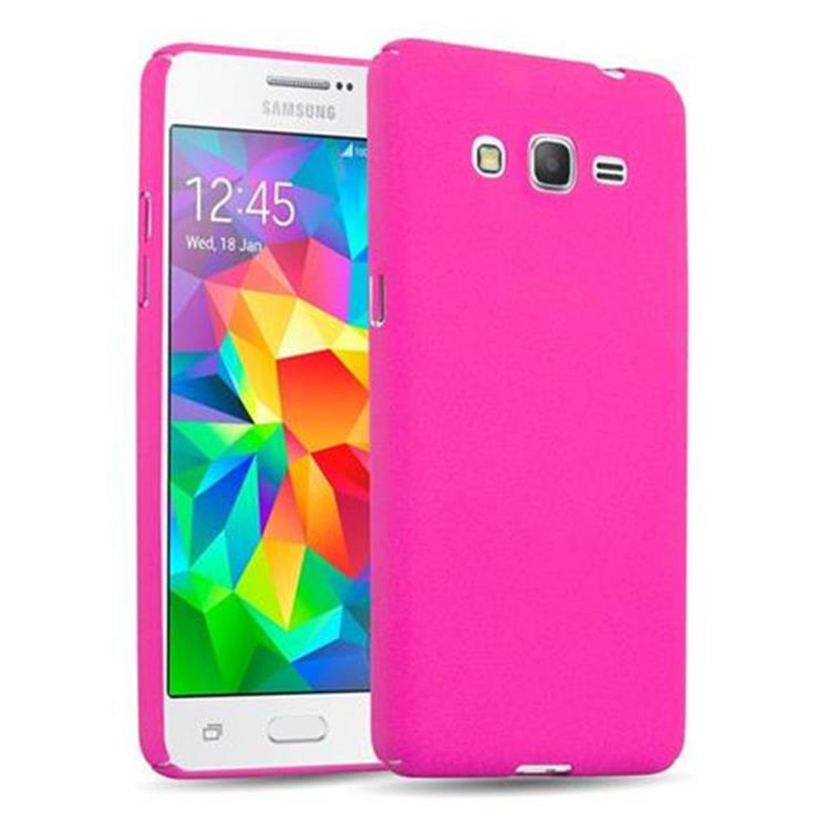samsung galaxy grand prime hardcase frosty in pink. Black Bedroom Furniture Sets. Home Design Ideas