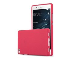 Cadorabo Case works with Huawei P8 in FROST RED...