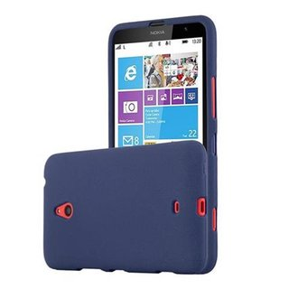 Cadorabo Case works with Nokia Lumia 1320 in FROST DARK...