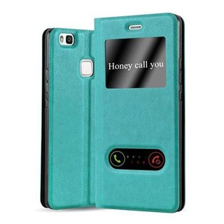 Cadorabo Book Case works with Huawei P9 LITE in MINT...