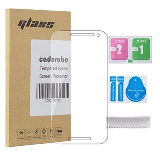 Cadorabo Tempered Glass works with Motorola MOTO G3 in...