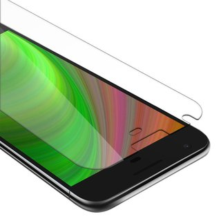 Cadorabo Tempered Glass works with Google Pixel XL in HIGH TRANSPARENCY - Screen Protection 3D Touch Compatible with 9H Hardness - Bulletproof Display Saver