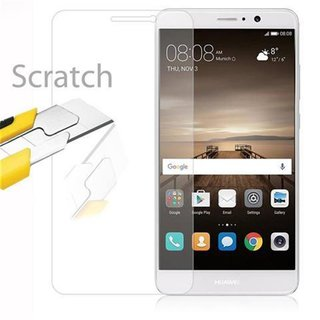 Cadorabo Tempered Glass works with Huawei MATE 9 in HIGH...