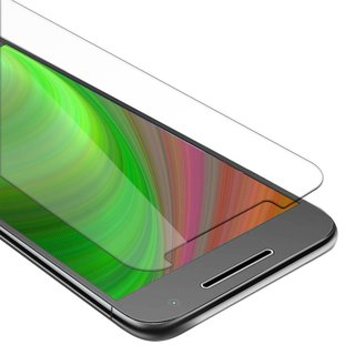 Cadorabo Tempered Glass works with Motorola MOTO G4 /...