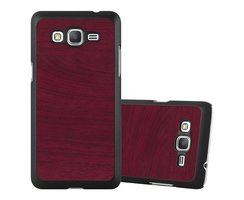 Cadorabo Case works with Samsung Galaxy J5 2015 in WOODY...