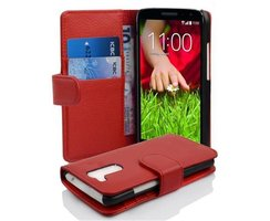 Cadorabo Book Case works with LG G2 MINI in CANDY APPLE...