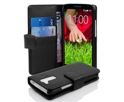 Cadorabo Book Case works with LG G2 MINI in OXID BLACK...