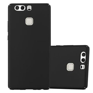 Cadorabo Case works with Huawei P9 in METAL BLACK -...