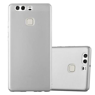 Cadorabo Case works with Huawei P9 in METAL SILVER -...