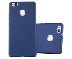 Cadorabo Case works with Huawei P9 LITE in METAL BLUE -...