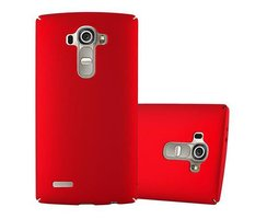Cadorabo Case works with LG G4 / G4 PLUS in METAL RED -...
