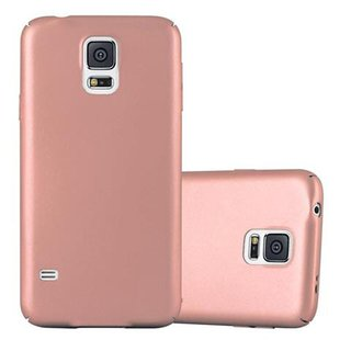 hot sale online 0ad3a eae9c Cadorabo Case works with Samsung Galaxy S5 / S5 NEO in METAL ROSÉ GOLD -  Shockproof and Scratch Resistent Plastic Hard Cover - Ultra Slim Protective  ...