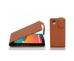 Cadorabo Case works with LG NEXUS 5 in SADDLE BROWN -...