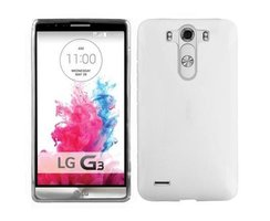 Cadorabo Case works with LG G3 in SEMI TRANSPARENT...