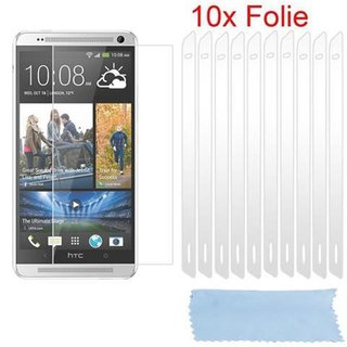 Cadorabo - 10 x Screen Protector Crystal Clear HQ for > HTC ONE MAX < high clear - Transparent