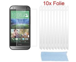 Cadorabo 10 x Screen Protector Crystal Clear HQ for > HTC...