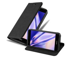 Cadorabo Book Case works with Huawei NOVA in NIGHT BLACK...