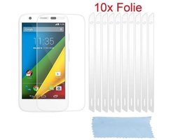 Cadorabo - 10 x Screen Protector Crystal Clear HQ for >...