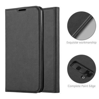 Cadorabo Book Case works with LG STYLUS 2 in NIGHT BLACK...