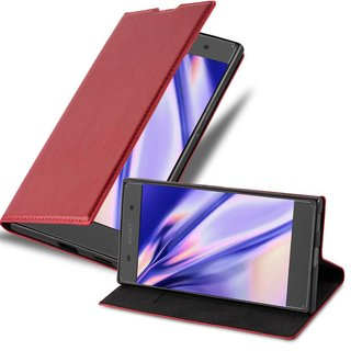 Cadorabo Book Case works with Sony Xperia XA1 in APPLE...