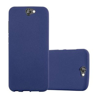 Cadorabo Case works with HTC ONE A9 in FROST DARK BLUE -...