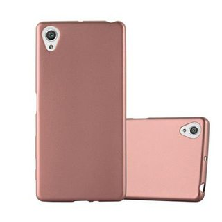Cadorabo Case works with Sony Xperia X in METALLIC ROSÉ...
