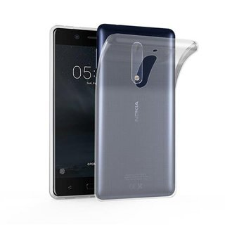 Cadorabo Case works with Nokia 5 in FULLY TRANSPARENT -...