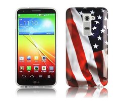 Cadorabo - Hard Case Back Cover for > LG G2 < - Bumper...
