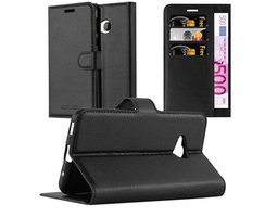 Cadorabo Book Case works with HTC U PLAY in OXID BLACK...