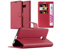 Cadorabo Book Case works with HTC U ULTRA in CANDY APPLE...
