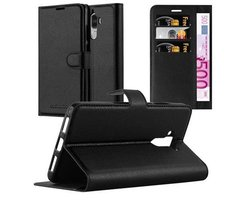 Cadorabo Book Case works with Huawei MATE 9 in OXID BLACK...