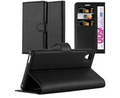 Cadorabo Book Case works with Sony Xperia M4 AQUA in OXID...