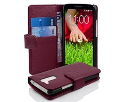 Cadorabo Book Case works with LG G2 MINI in PASTEL PURPLE...