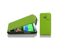 Cadorabo Case works with HTC ONE M8 MINI in APPLE GREEN...