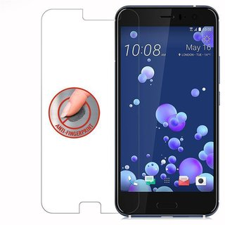 Cadorabo Tempered Glass works with HTC OCEAN / U11 in HIGH TRANSPARENCY Screen Protection 3D Touch Compatible with 9H Hardness Bulletproof Display Saver