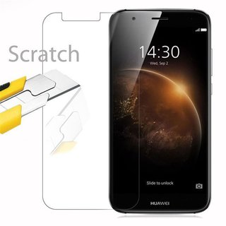 Cadorabo Tempered Glass works with Huawei G7 PLUS / G8 /...