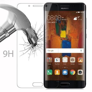 Cadorabo Tempered Glass works with Huawei MATE 9 PRO in HIGH TRANSPARENCY - Screen Protection 3D Touch Compatible with 9H Hardness - Bulletproof Display Saver