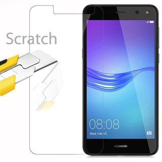 Cadorabo Tempered Glass works with Huawei Y6 2017 in HIGH...