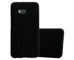 Cadorabo Case works with HTC OCEAN / U11 in FROST BLACK -...