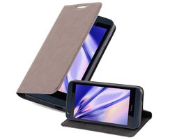 Cadorabo Book Case works with HTC DESIRE 626G in COFFEE...
