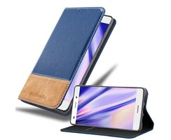 Cadorabo Book Case works with Huawei P8 LITE 2015 in DARK...