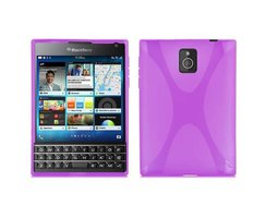 Cadorabo Case works with Blackberry Q30 in PASTEL PURPLE...