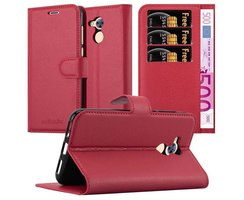 Cadorabo Book Case works with Honor 6A in CANDY APPLE RED...