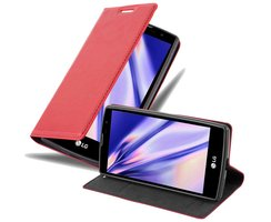 Cadorabo Book Case works with LG G4C in APPLE RED - with...