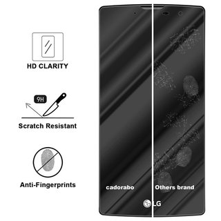Cadorabo Tempered Glass works with LG G4c / G4 MINI in HIGH TRANSPARENCY - Screen Protection 3D Touch Compatible with 9H Hardness - Bulletproof Display Saver