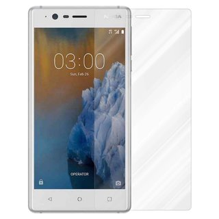 Cadorabo Tempered Glass works with Nokia 3 2017 in HIGH...