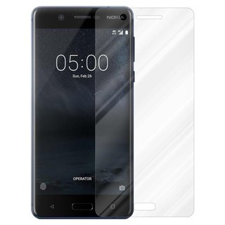 Cadorabo Tempered Glass works with Nokia 5 2017 in HIGH...
