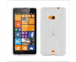 Cadorabo Case works with Nokia Lumia 535 in SEMI...
