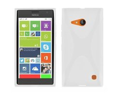 Cadorabo Case works with Nokia Lumia 730 in SEMI...